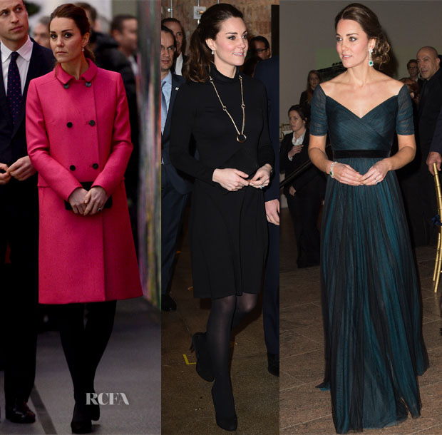 Catherine, Duchess of Cambridge In Mulberry, Seraphine & Jenny Packham - New York Official Visit