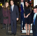 Catherine, Duchess of Cambridge In Seraphine & Beulah - Out In New York City