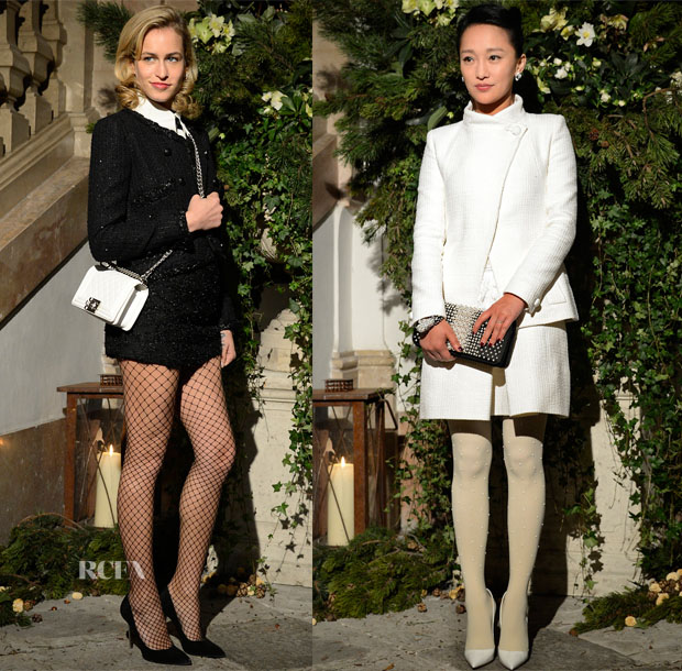 Chanel Metiers d'Art Collection 201415 Paris-Salzburg Front Row 2