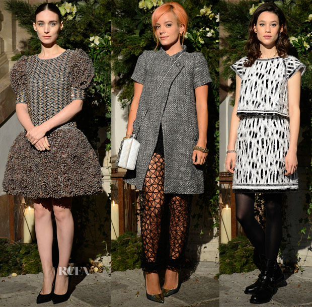 Chanel Metiers d'Art Collection 201415 Paris-Salzburg Front Row