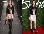 Charlotte Gainsbourg In Louis Vuitton - 2014 British Fashion Awards