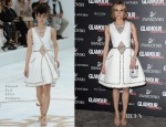 Diane Kruger In Chanel Couture - 2014 Glamour Awards