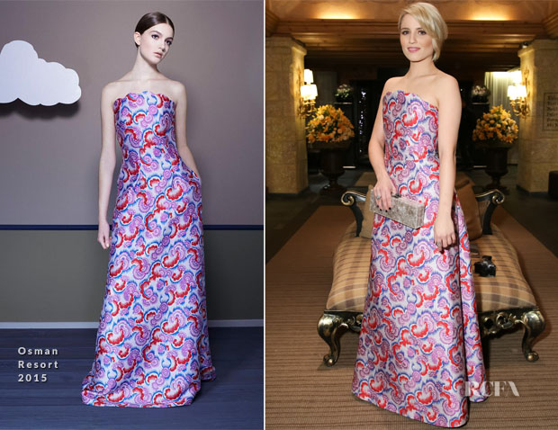 Dianna Agron In Osman - ASMALLWORLD's 10th Anniversary Winter Weekend Gala Benefit