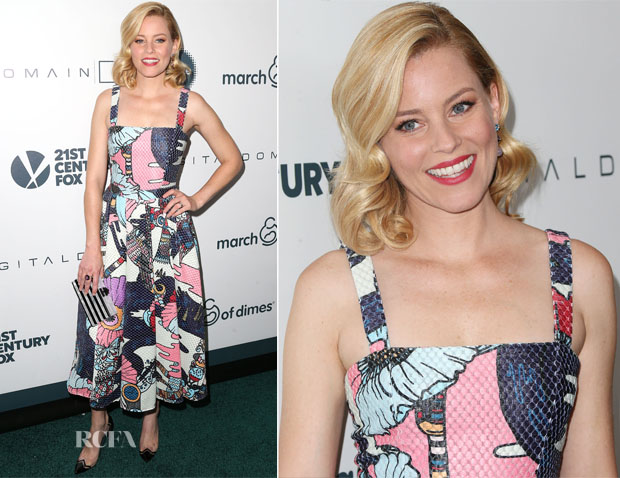 Elizabeth Banks In Mary Katrantzou - March Of Dimes Celebration Of Babies A Hollywood Luncheon