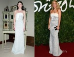 Ellie Goulding In Roland Mouret - 2014 British Fashion Awards