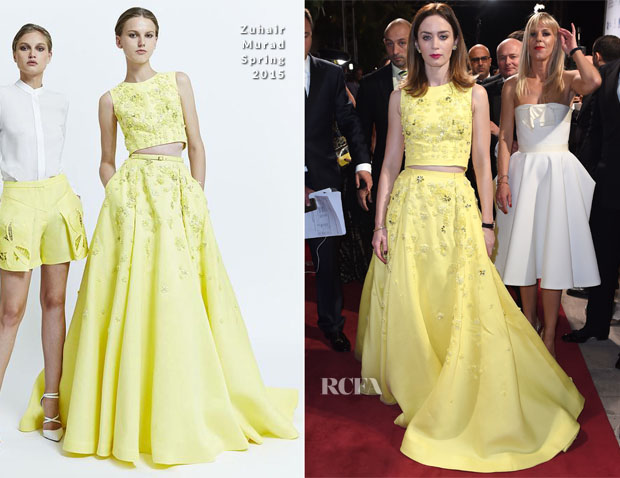 Emily Blunt In Zuhair Murad - 11th Annual Dubai International Film Festival Opening Night Gala
