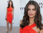 Emily Ratajkowski In Bec & Bridge - The Hollywood Reporter's 23rd Annual Women In Entertainment Breakfast