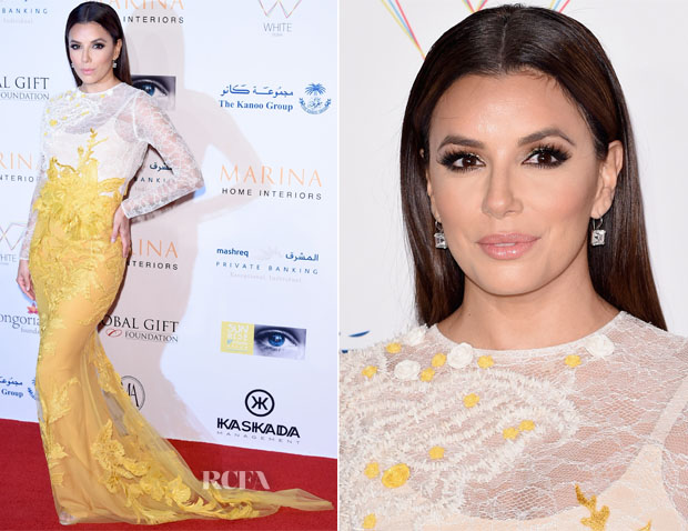 Eva Longoria In Ali Younes - Global Gift Gala