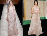 Evangeline Lilly In Alberta Ferretti - 'The Hobbit: The Battle Of The Five Armies' LA Premiere
