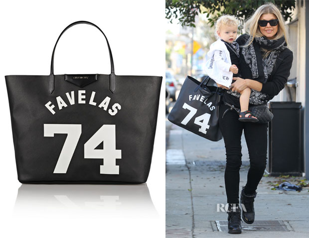 Fergie's Givenchy  Antigona Favelas Large Shopper