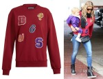 Fergie's House of Holland Lettered Sweatshirt