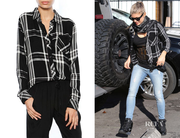 Fergie's Rails Hunter Long Sleeve Plaid Shirt