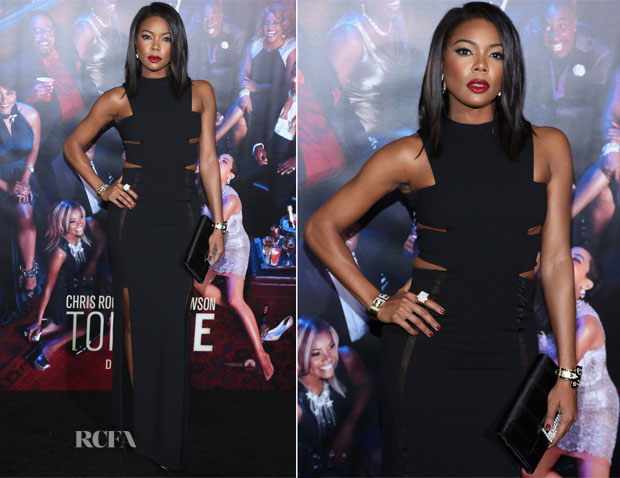 Gabrielle Union In Solace London - 'Top Five' New York Premiere