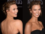 Get The Look Karlie Kloss' The PEOPLE Magazine Awards Effortless Updo