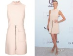 Giuliana Rancic's Topshop Premium High Neck Shift Dress