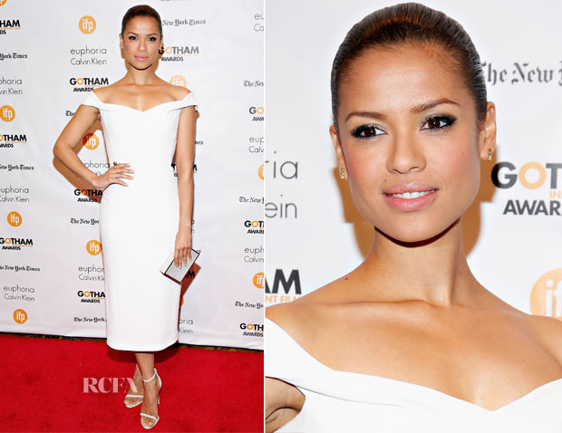 Gugu Mbatha-Raw In Calvin Klein Collection - 2014 Gotham Independent Film Awards
