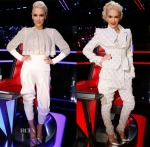 Gwen Stefani In Antonio Berardi & Vivienne Westwood - The Voice