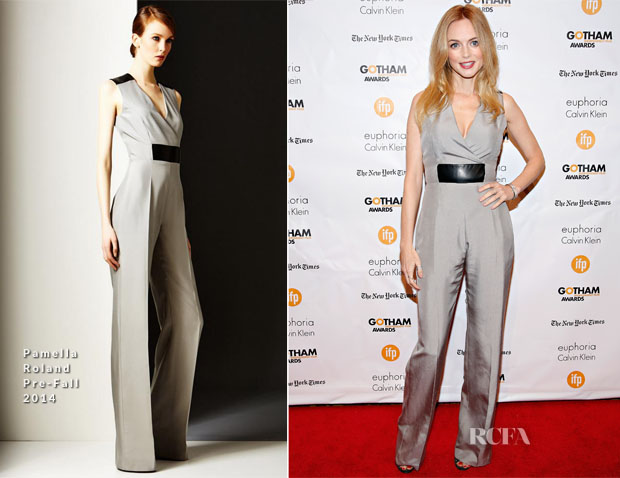 Heather Graham In Pamella Roland - 2014 Gotham Independent Film Awards