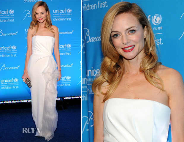 Heather Graham In Paule Ka - 10th Annual UNICEF Snowflake Ball