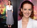 Jena Malone In Ulyana Sergeenkon Demi Couture - 'Inherent Vice' LA Premiere