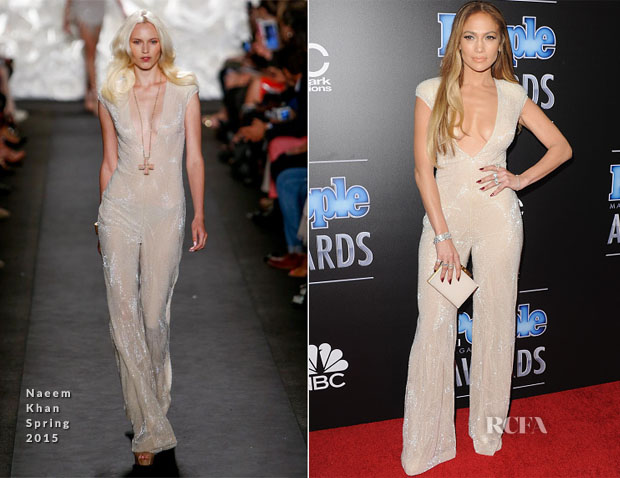 Jennifer Lopez In Naeem Khan - The PEOPLE Magazine Awards