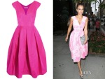 Jessica Alba's Antonio Berardi Silk-Organza Dress