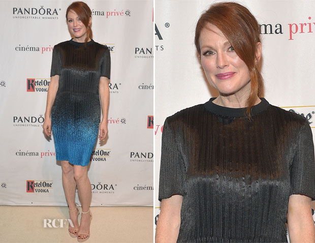 Julianne Moore In Alexander Wang - 'Still Alice' Special Screening