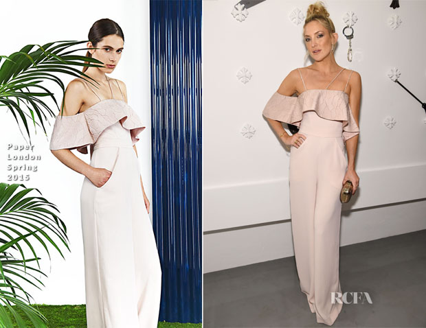 Kate Hudson In Paper London - Chrome Hearts Celebrates The Miami Project
