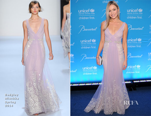 Katrina Bowden In Badgley Mischka - 10th Annual UNICEF Snowflake Ball