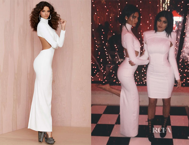 Kendall Jenner's Solace London Bougie Cutout Dress