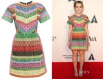 Kiernan Shipka's Valentino 1973 Lace Dress