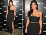 Kim Kardashian In Mugler & J. Mendel - Paper Magazine Break The Internet Issue Release Party