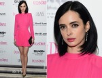 Krysten Ritter In Balmain - Ocean Drive Magazine December Cover Party