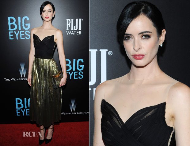 Krysten Ritter In J Mendel - 'Big Eyes' New York Premiere