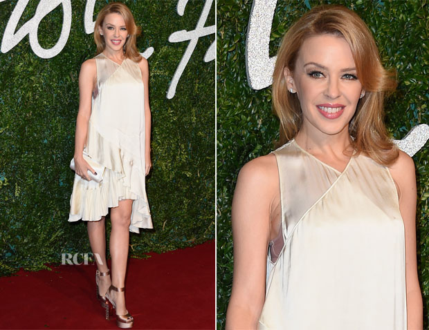 Kylie Minogue In Stella McCartney - 2014 British Fashion Awards