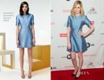 Laura Carmichael In Jonathan Saunders R15 - 'Downton Abbey' Season Five Cast Photocall