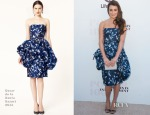 Lea Michele In Oscar de la Renta - The Hollywood Reporter's Women In Entertainment Breakfast