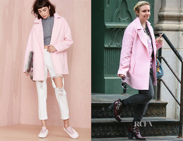 Lena Dunham's Nasty Gal Dustee Coat