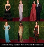 Who Was Your Best Dressed At The 2014 London Evening Standard Theatre Awards?