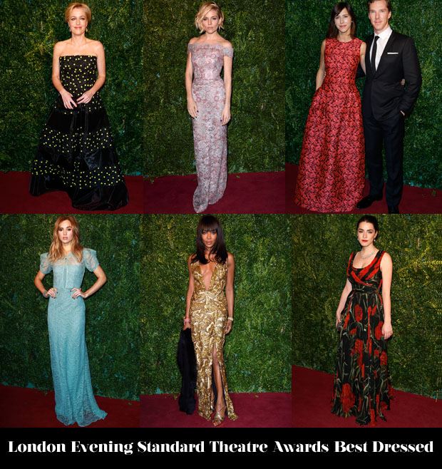 London Evening Standard Theatre Awards Best Dressed