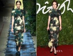 Michelle Dockery in Erdem - 2014 British Fashion Awards