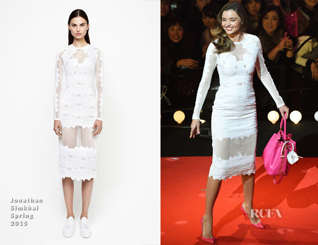 Miranda Kerr In Jonathan Simkhai - Samantha Thavasa 20th Anniversary Party