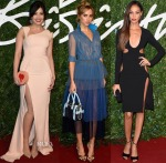 Models @ The 2014 British Fashion Awards