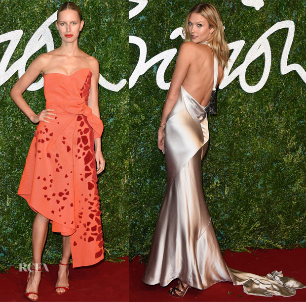 Models 3@ The 2014 2014 British Fashion Awards