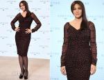 Monica Bellucci In Dolce & Gabbana - Bond 24 'Spectre' Photocall