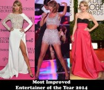 Most Improved & Entertainer of the Year 2014 – Taylor Swift