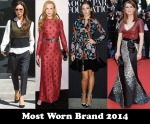 Most Worn Brand 2014 - Louis Vuitton