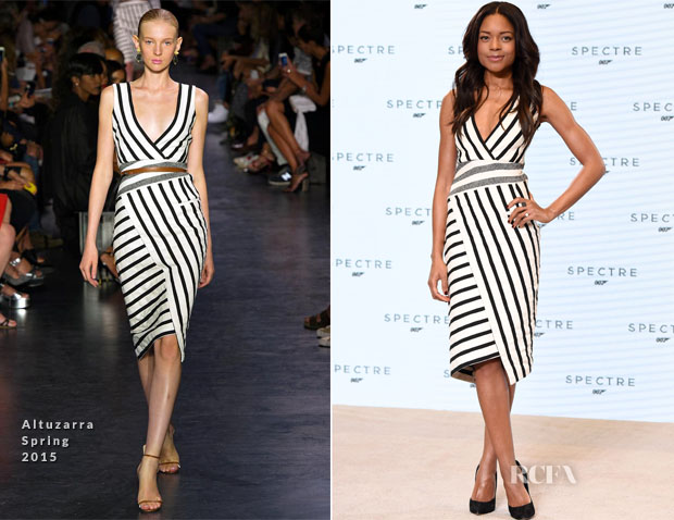 Naomie Harris In Altuzarra - Bond 24 'Spectre' Photocall