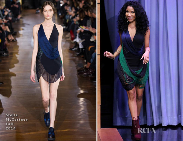 Nicki Minaj In Stella McCartney - The Tonight Show Starring Jimmy Fallon