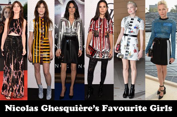 Nicolas Ghesquière's Favourite Girls